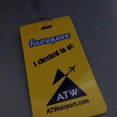 Photo taken at Appleton International Airport (ATW) by Mire S. on 4/3/2013