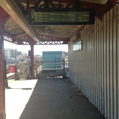 Photo taken at MTA Subway - Castle Hill Ave (6) by Desiree C. on 4/3/2013