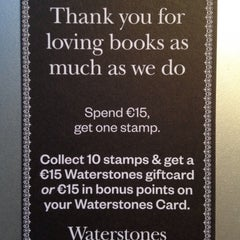 Photo taken at Waterstones by Lilian M. on 1/16/2015