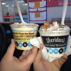 Photo taken at Sheridan's Frozen Custard by Marci W. on 4/25/2013