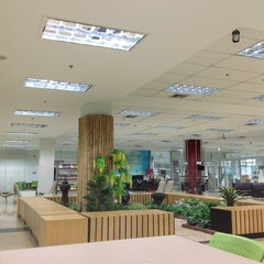 Photo taken at สำนักหอสมุด (Office of the University Library) by warunee m. on 12/8/2012