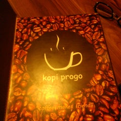 Photo taken at Kopi Progo by Ikhwanul H. on 10/25/2014