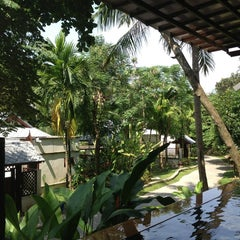 Photo taken at Salad Buri Resort by Yuri K. on 4/2/2013
