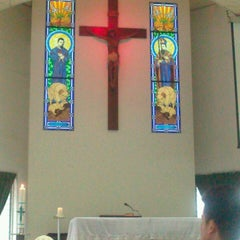 Photo taken at Chapel of Sts Jacques Chastan & Laurent Imbert by Audrey A. on 4/13/2013