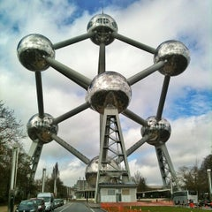 Photo taken at Atomium by Phil S. on 4/15/2013