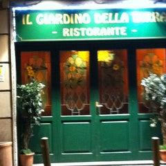 Photo taken at Giardino della Birra by Filippo P. on 1/10/2013