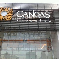 Photo taken at Canoas Shopping by Marcio S. on 4/28/2013
