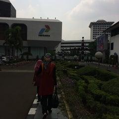 Photo taken at Kantor Pusat PT Pertamina (Persero) by Nur K. on 11/12/2015