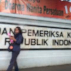 Photo taken at Badan Pemeriksa Keuangan (BPK) RI by Nur K. on 12/21/2015