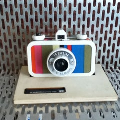 Photo taken at Lomography Embassy Store Istanbul by Anna Lee on 4/28/2013
