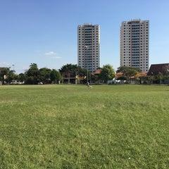 Photo taken at Praça Floripes Bicudo Martins by Camila K. on 8/9/2015