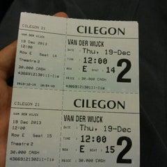 Photo taken at Cinema 21 Cilegon by Inayatunnisa on 12/19/2013