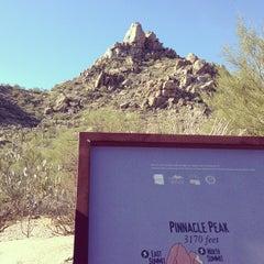 Photo taken at Pinnacle Peak Park by Miles B. on 1/1/2013