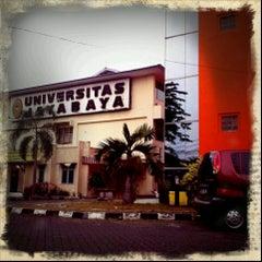 Photo taken at Universitas Jayabaya Cimanggis by donna i. on 10/1/2012