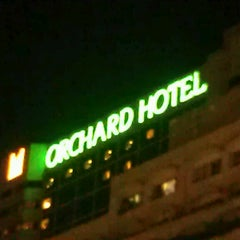 Photo taken at Orchard Hotel by Anton P. on 7/23/2013
