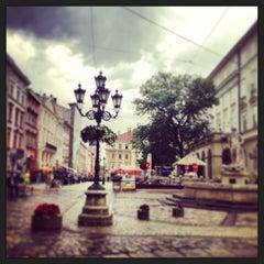 Photo taken at Площа Ринок / Rynok Square by Любовь К. on 6/6/2013
