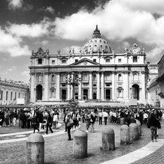 Photo taken at Piazza San Pietro by Pavel K. on 5/24/2013