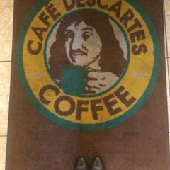 Photo taken at Café Descartes by Melviva on 7/17/2014