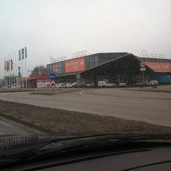 Photo taken at SKY lielveikals by Aleksejs R. on 4/12/2013