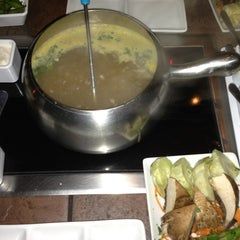 Photo taken at The Melting Pot by Shay T. on 2/15/2013