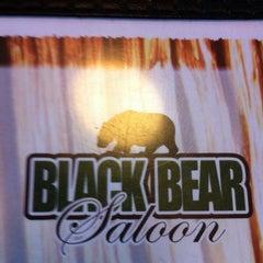 Photo taken at Black Bear Saloon by Kat S. on 12/23/2012