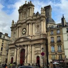 Photo taken at Métro Saint-Paul – Le Marais [1] by Tanya P. on 3/26/2015