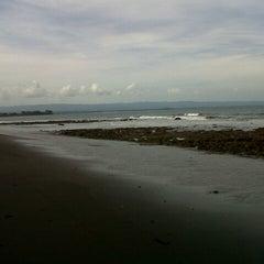 Photo taken at Pantai Batu Karas by Andin D. on 4/26/2013