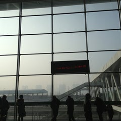 Photo taken at 苏州园区站 Suzhou Industrial Park Railway Station by Kevin C. on 2/24/2013