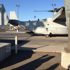Photo taken at Marine Corps Air Station Miramar by Winnie T. on 6/20/2013