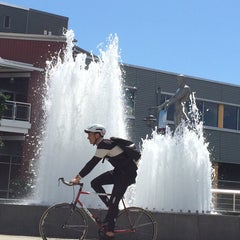 Photo taken at Father & Son Fountain by Jon K. on 6/16/2014