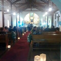 Photo taken at Iglesia La Niña María by Maria G. on 7/13/2014