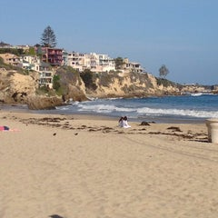 Photo taken at Corona del Mar State Beach by Peter B. on 5/25/2013