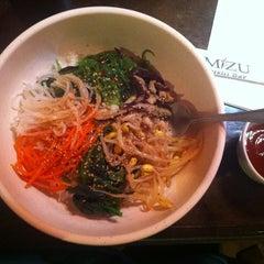 Photo taken at Mizu Sushi by Marie K. on 5/23/2013