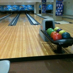Photo taken at Unimas Bowling Alley by Nura A. on 5/19/2014