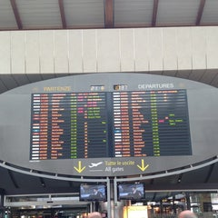 Photo taken at Aeroporto di Venezia Marco Polo (VCE) by Valeria on 6/21/2013
