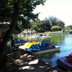 Photo taken at Atracciones El Lago by Berenice P. on 10/6/2013