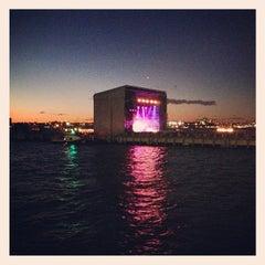 Photo taken at Pier 25 — Hudson River Park by Alex B. on 9/6/2013