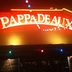 Photo taken at Pappadeaux Seafood Kitchen by Rachel V. on 7/19/2013