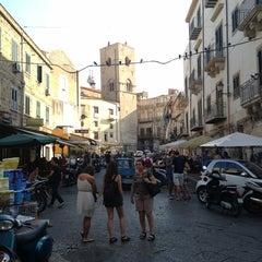 Photo taken at Ballarò by Tullio L. on 8/12/2013