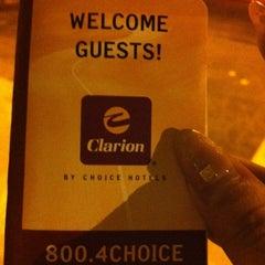 Photo taken at Clarion Hotel - Seattle International Airport by Tsunekawa T. on 10/31/2012