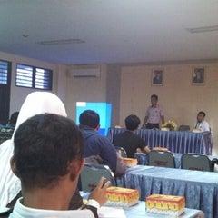 """Photo taken at Universitas """"45"""" Makassar by Esteh_ m. on 12/27/2013"""