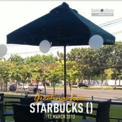 Photo taken at Starbucks (สตาร์บัคส์) by Patrix N. on 3/12/2013