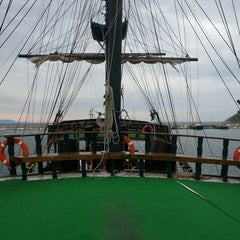 Photo taken at Pirates of Alanya by Emre T. on 10/17/2013