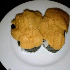 Photo taken at Echigo Sushi by David C. on 1/23/2013