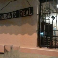 Photo taken at Restaurant Real by Vania V. on 8/21/2013