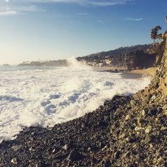 Photo taken at West Street Beach by Logan M. on 3/29/2015