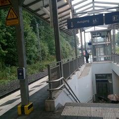 Photo taken at Bahnhof Ennepetal by Tennek A. on 9/11/2013