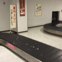 Photo taken at 福岡空港 手荷物受取台 by Shin I. on 6/19/2015