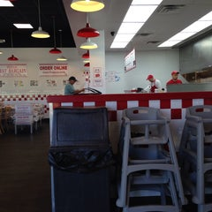 Photo taken at Five Guys by Gueni on 5/6/2014