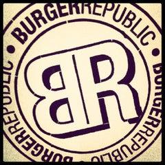 Photo taken at Burger Republic by Jean-Francois H. on 5/31/2013
